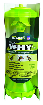 The RESCUE! WHY Trap for Wasps, Hornets & Yellowjackets